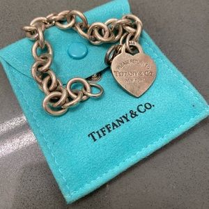 Return to Tiffany: Heart Tag Charm Bracelet